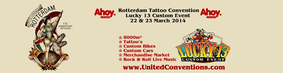 Rotterdam Tattoo Convention Ink & Steel 2014