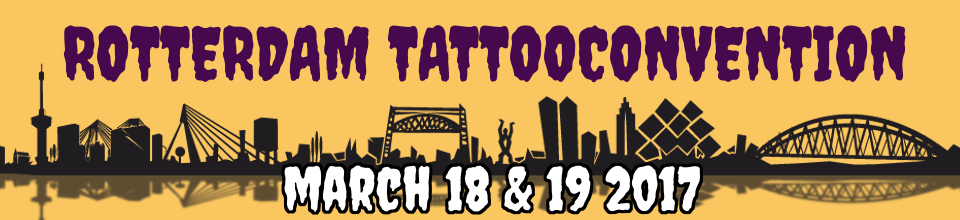 Rotterdam Tattoo Convention Ink & Steel 2017